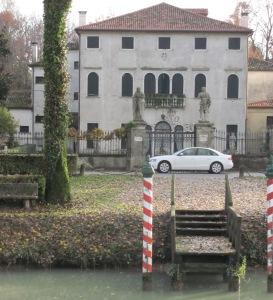Villa De Chantal/Badoer-Fattoretto oggi. All'interno è presente anche il Museo del Villano