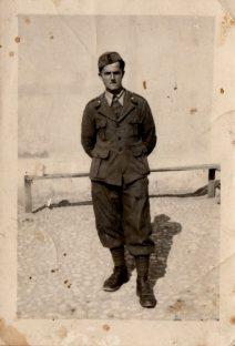 Smaggiato Lino (1923-1945) in una delleultime istantanee