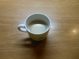 Il secondo caffé. Simile al primo ma di gusto differente.