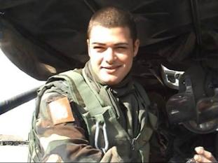 Il 1° Cap.Magg. Matteo Vanzan da Camponogara
